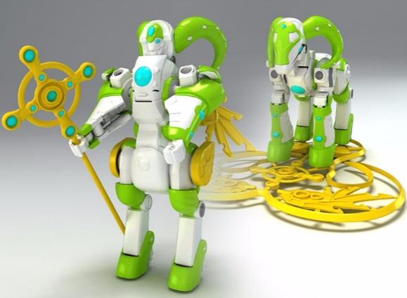 骏意设计·生肖变形玩具机器人案例