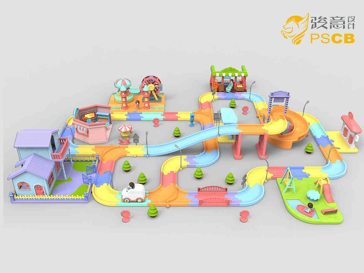 轨道玩具设计