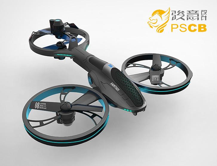三轴遥控飞行器设计