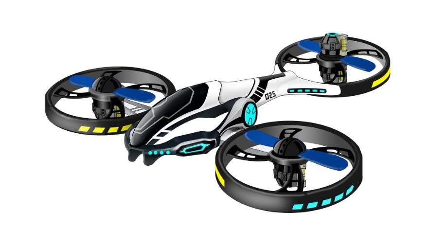 骏意设计·智能航模飞行器案例