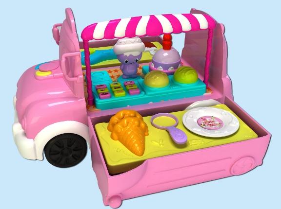 骏意设计·收纳雪糕车过家家玩具案例