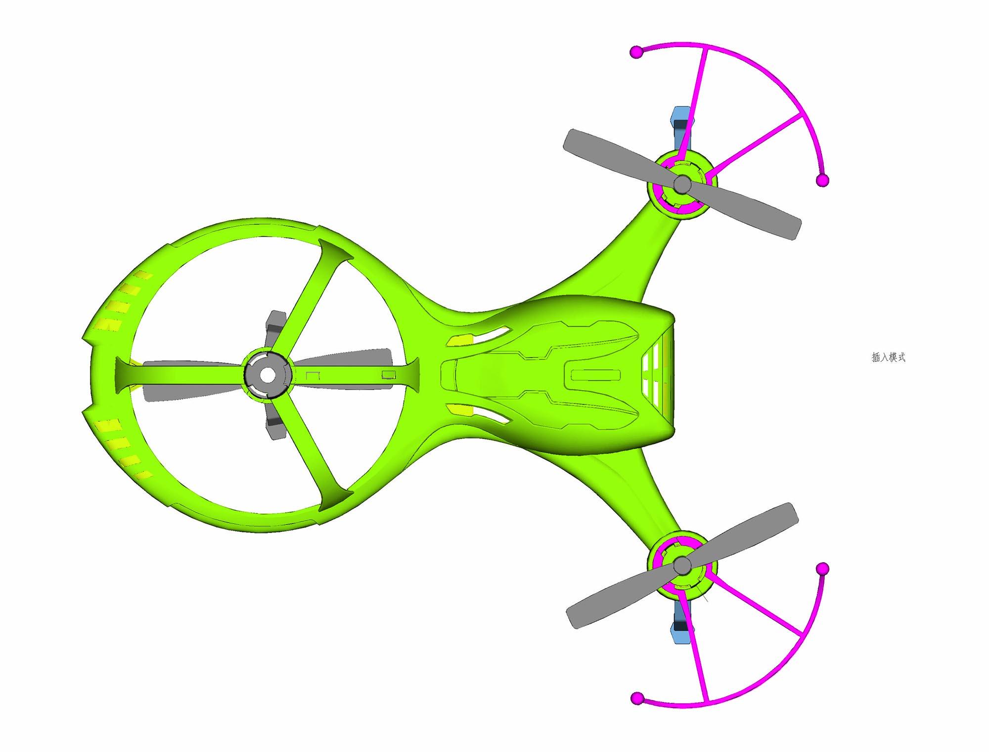 智能航模飞行器设计