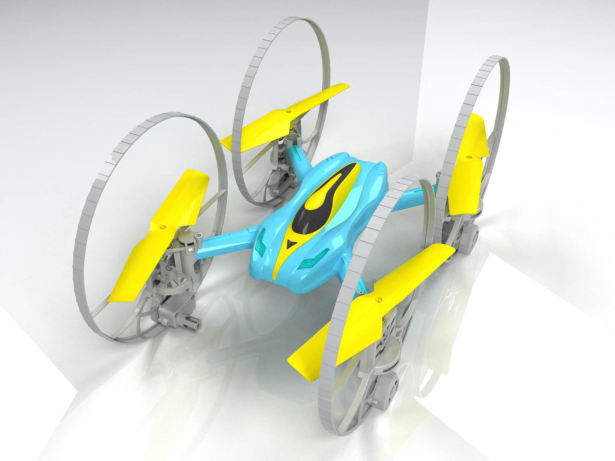 四轴飞行器设计