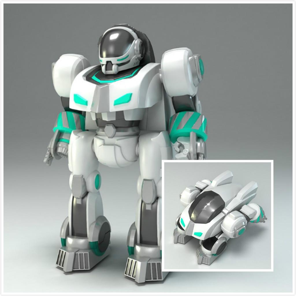 图一 骏意设计·指纹识别机器人