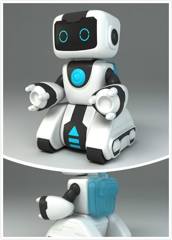 图二 骏意设计·智能机器人案例