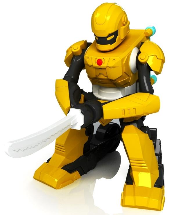 图三 骏意设计·剑击格斗机器人
