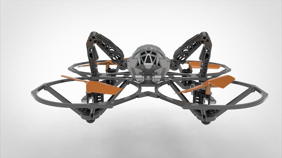 授权IP四轴飞行器设计