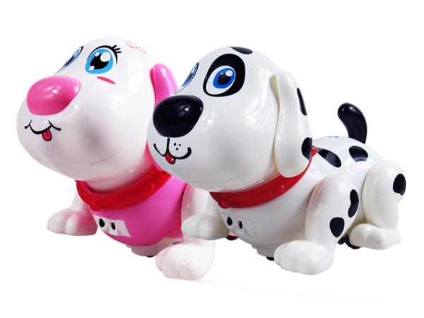 智能感应互动宠物狗玩具设计