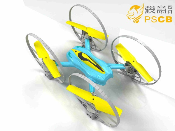 轮型四轴无人机设计