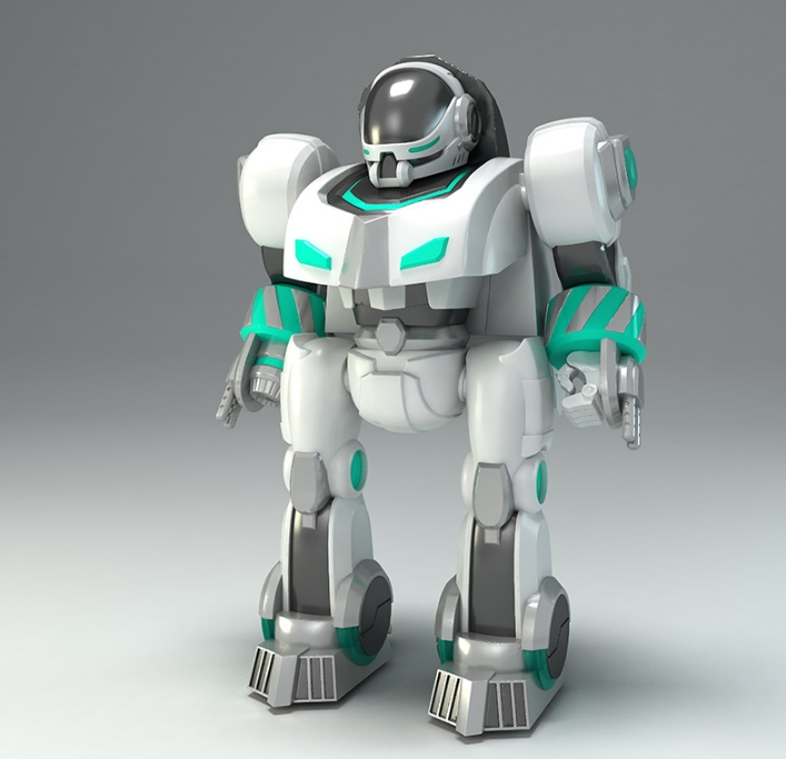 骏意设计·指纹识别机器人案例