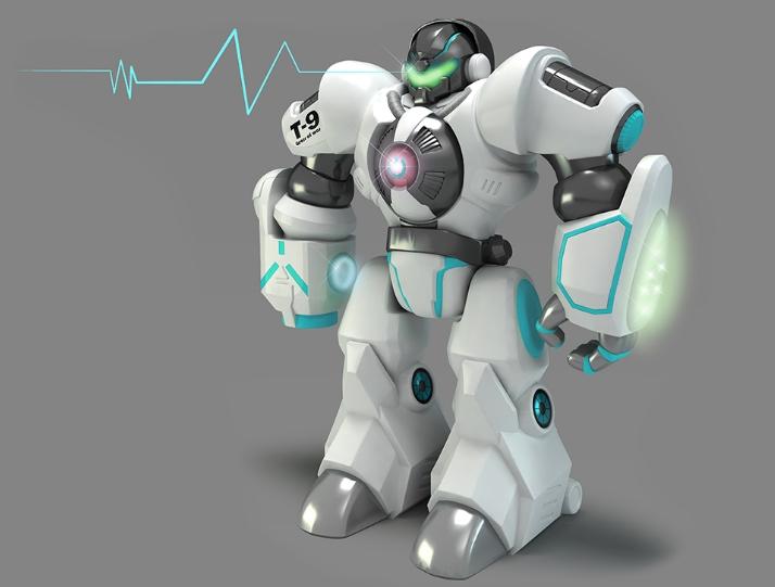 骏意设计·智能机甲战神机器人案例