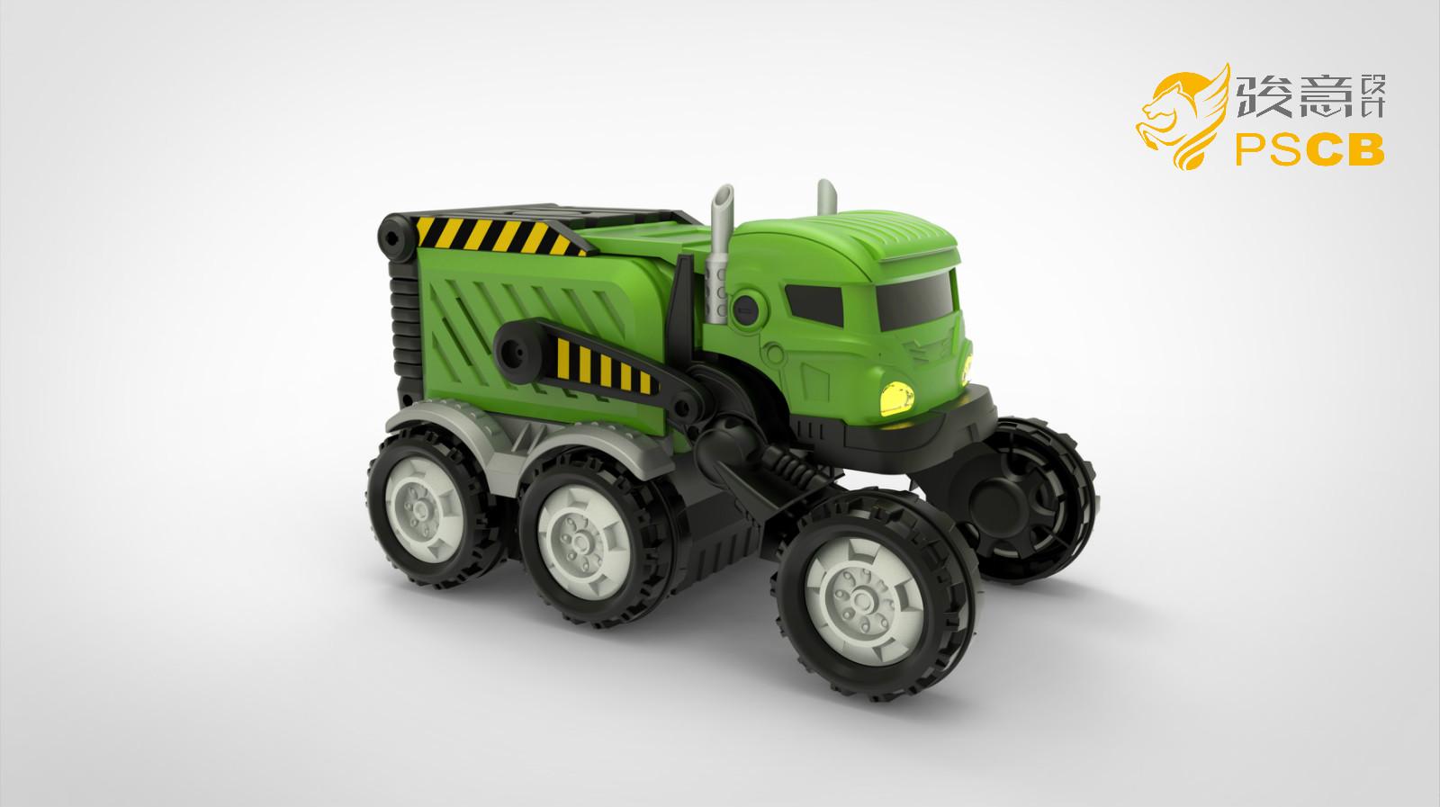 汽车模型设计