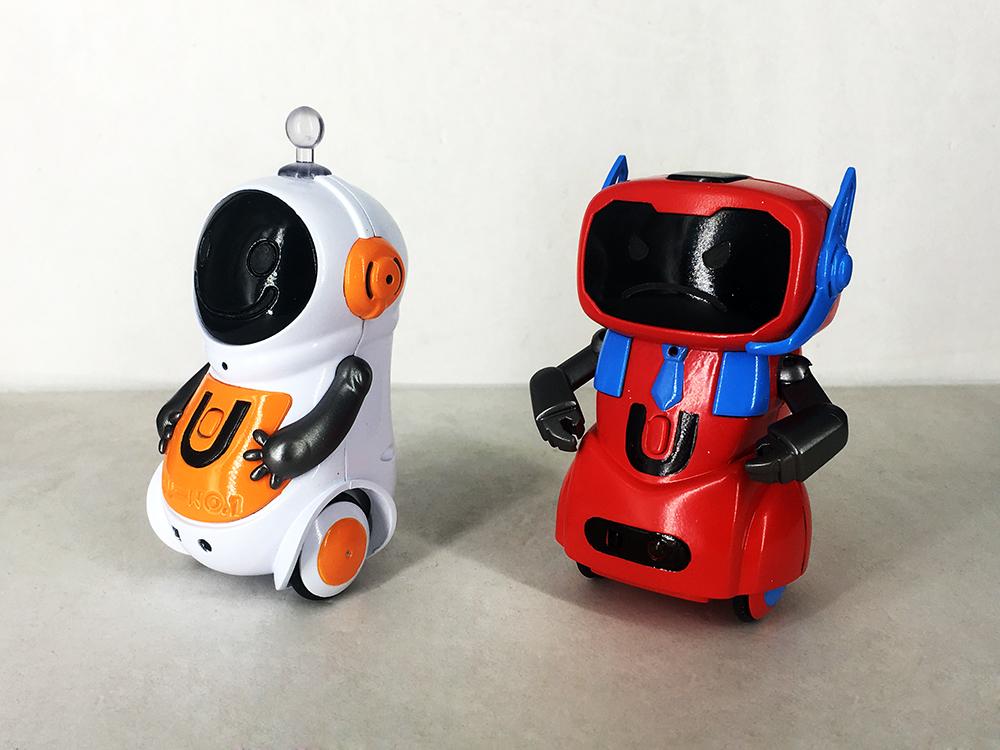 减压萌宠机器人设计