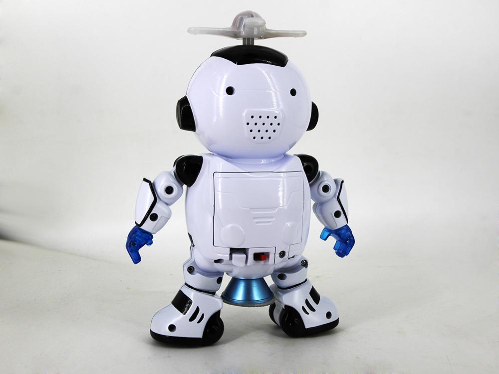 电动跳舞机器人设计