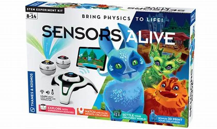7.Sensors Alive Bring Physics to Life(Thames & Kosmos)