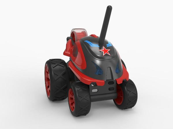 五轮特技玩具车设计