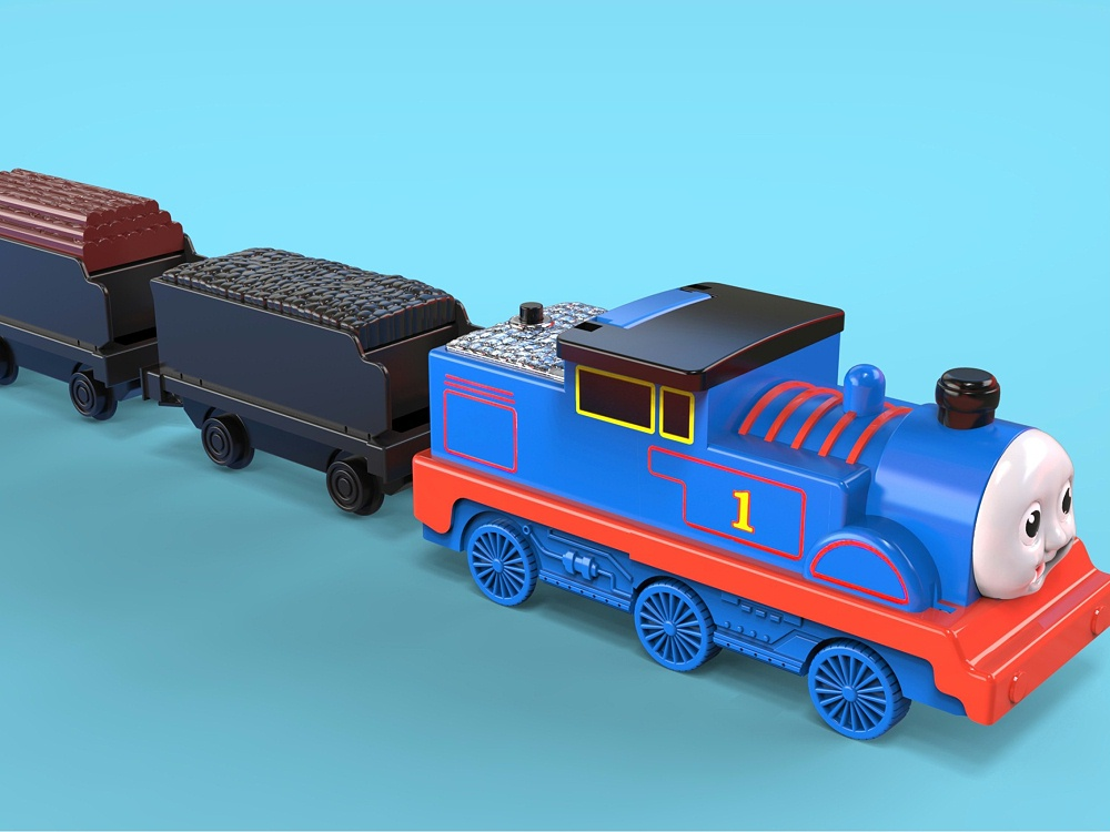 托马斯变形玩具设计