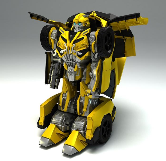 骏意设计·大黄蜂变形金刚玩具