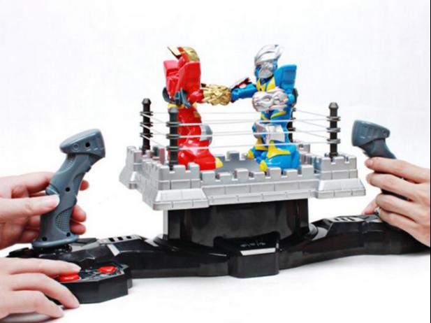 机器人擂台竞技玩具设计