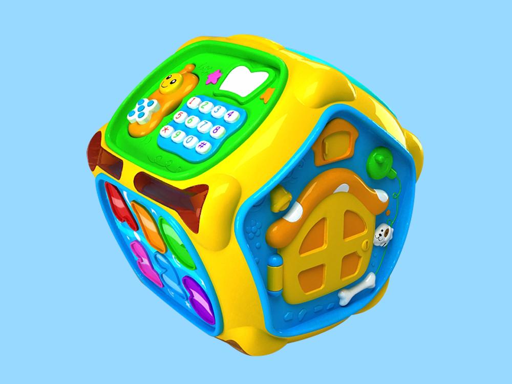 婴童益智多面屋玩具设计