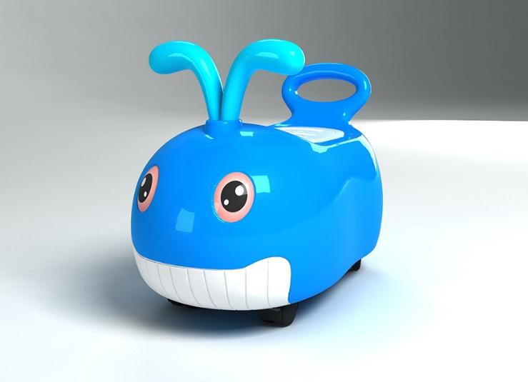骏意设计·鲸鱼坐便器案例