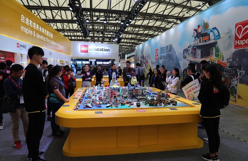 历届中国上海玩具展