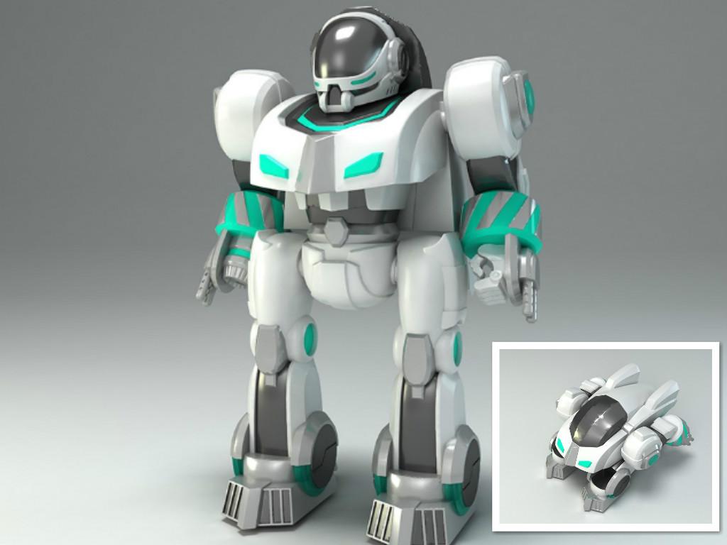 骏意设计·指纹智能机器人玩具案例
