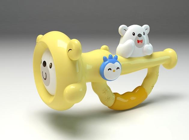 骏意设计·邦尼熊IP授权儿童乐器玩具案例