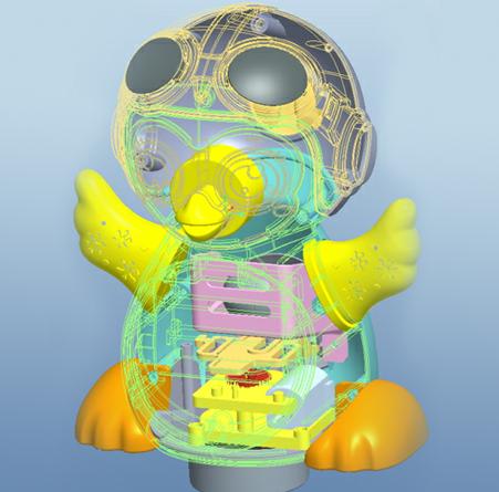 骏意设计3D结构设计案例