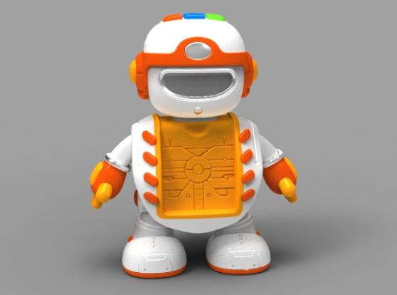 骏意设计塑料玩具案例