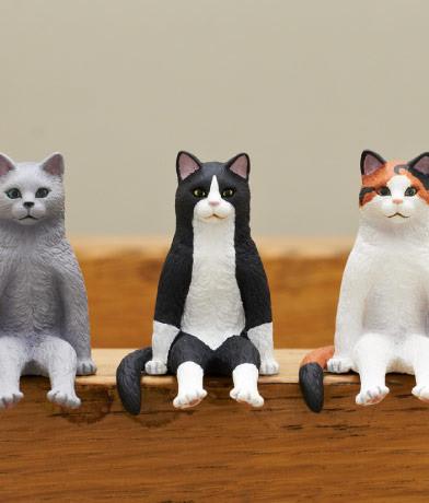 坐着的猫玩具系列细节1