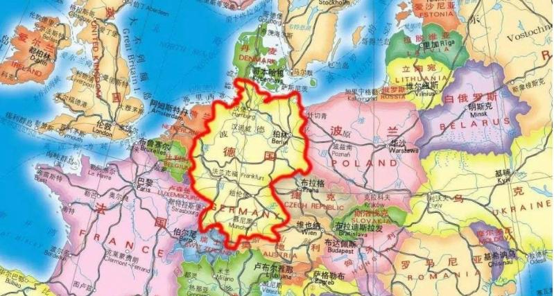 波兰地理位置