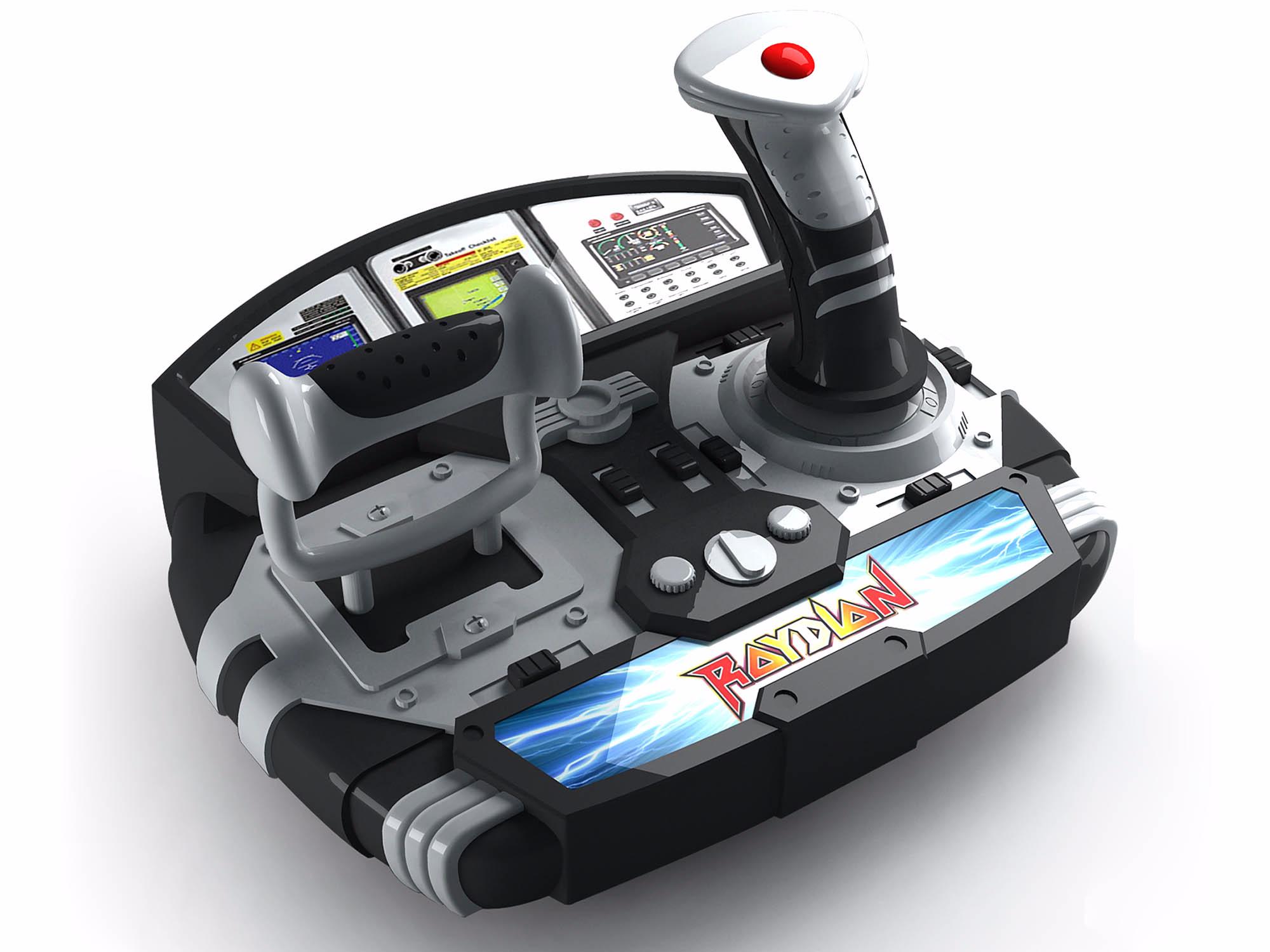 仿真驾驶控制台玩具设计