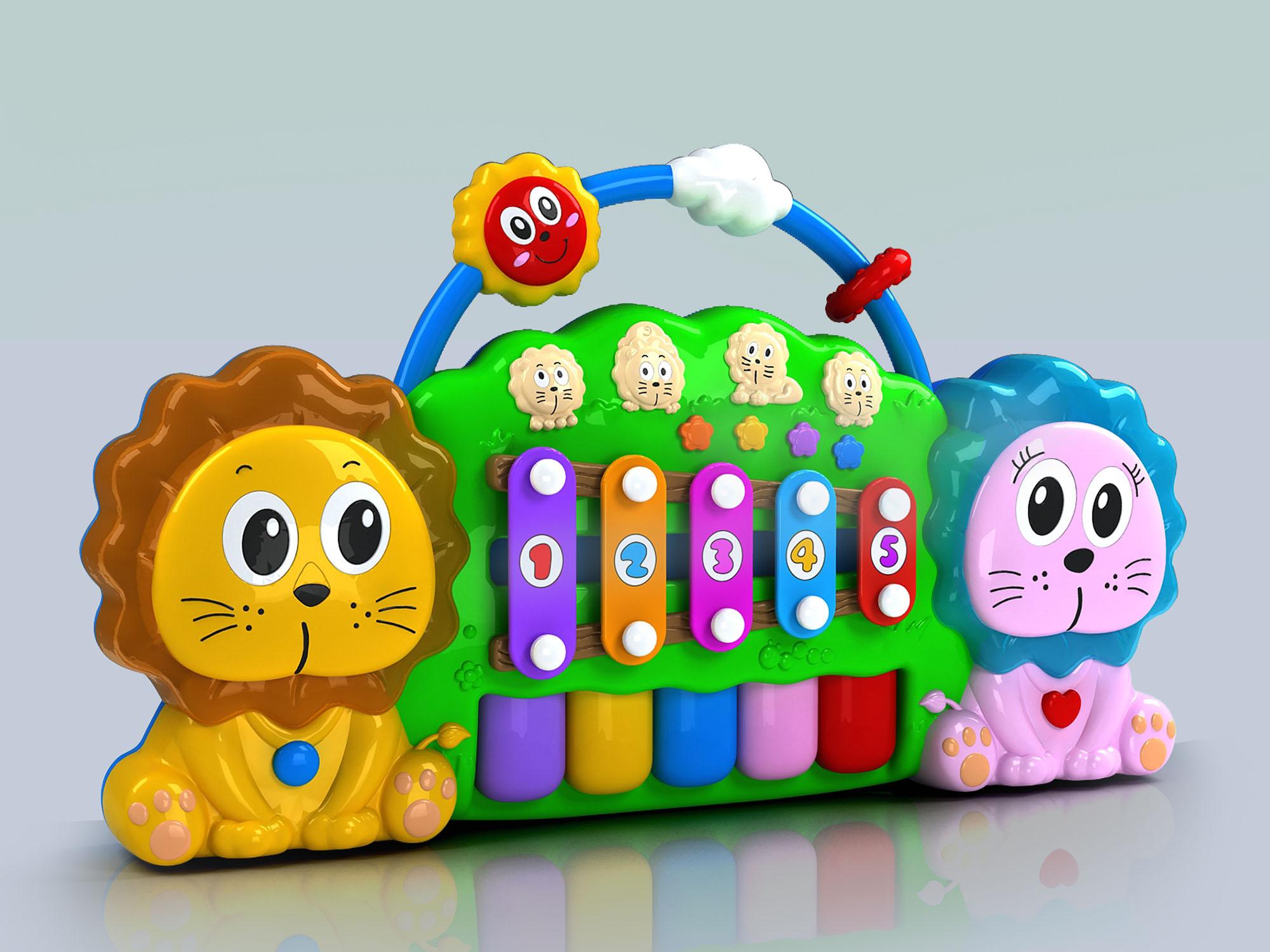 狮子手敲琴排版4
