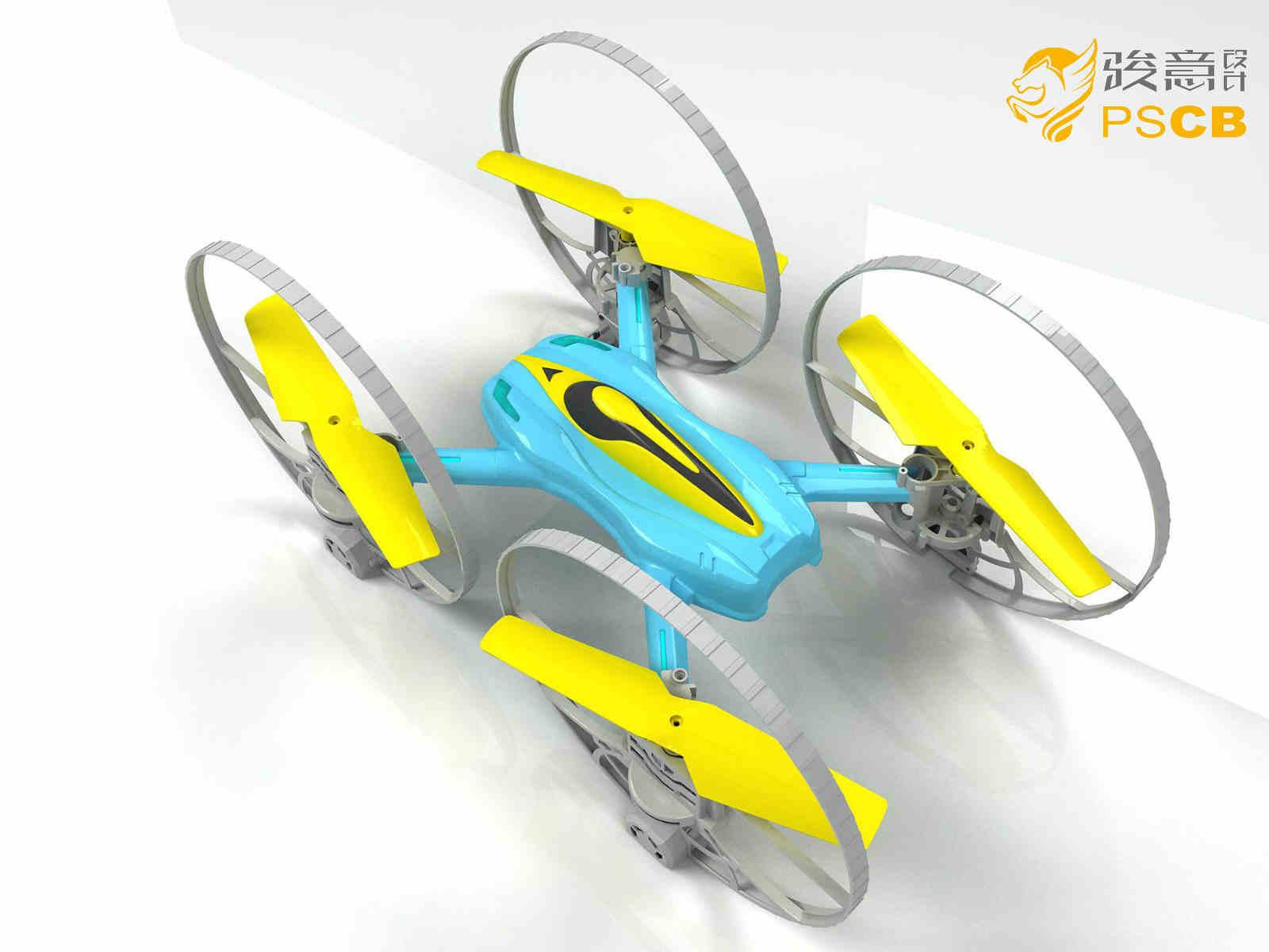 轮型四轴无人机定制