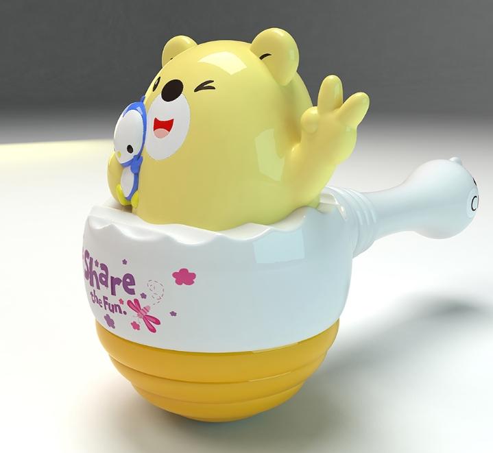 骏意设计·邦尼熊授权IP形象儿童乐器