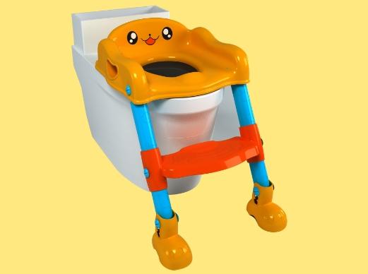 骏意设计·儿童卡通楼梯坐便器案例
