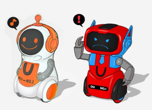 骏意设计·减压萌宠智能机器人案例