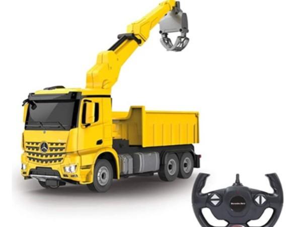 电动工程车玩具设计