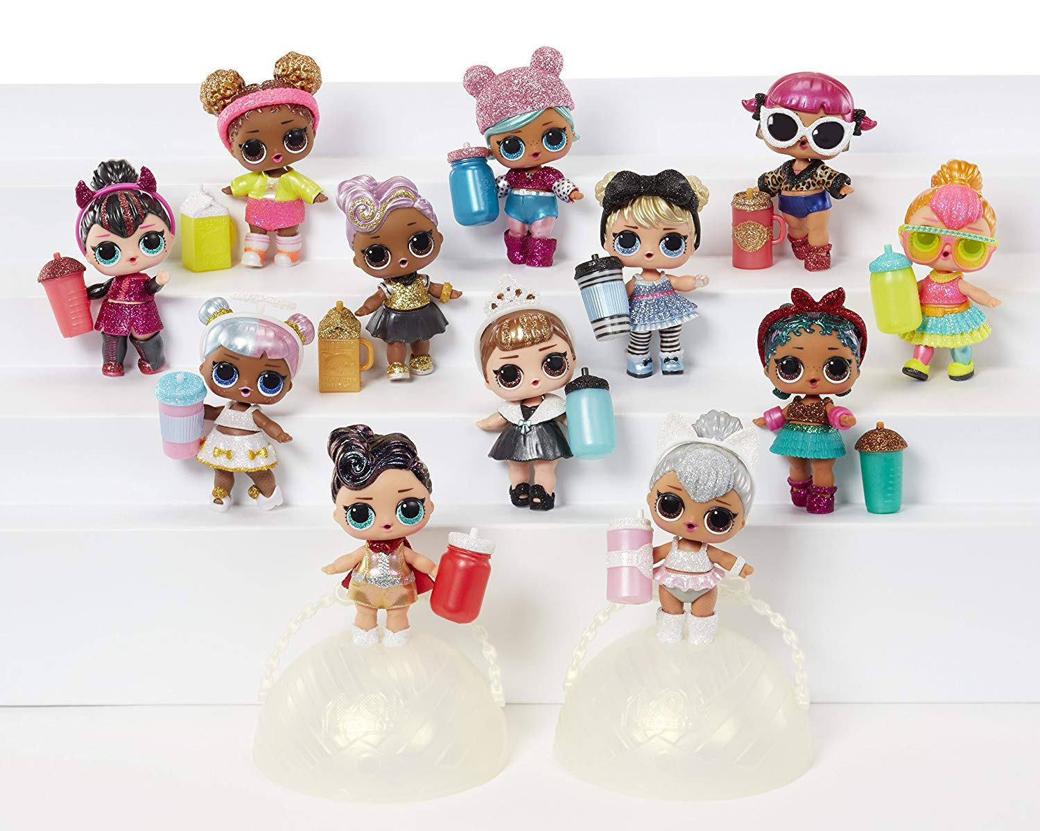 1.L.O.L. Surprise! Glam Glitter Series Doll with 7 Surprises