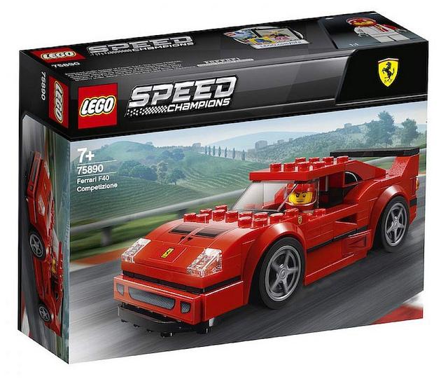1.LEGO 75890 Ferrari F40 Competizione