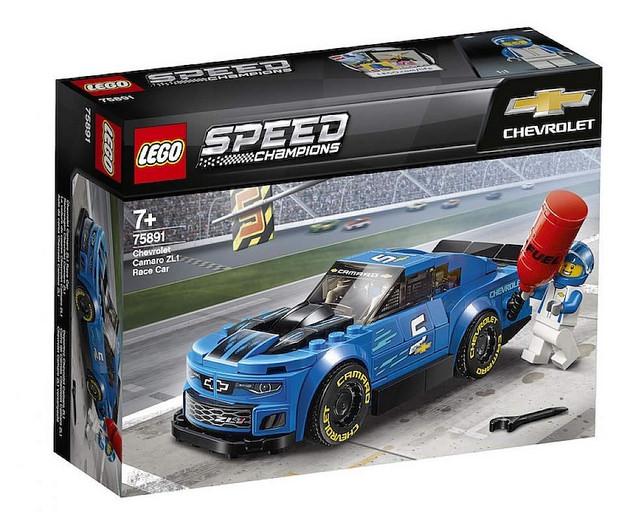 2.LEGO 75891 Chevrolet Camaro ZL1 Race Car