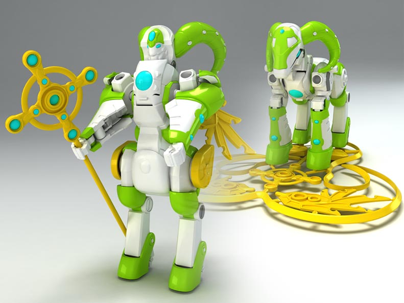 塑胶玩具设计