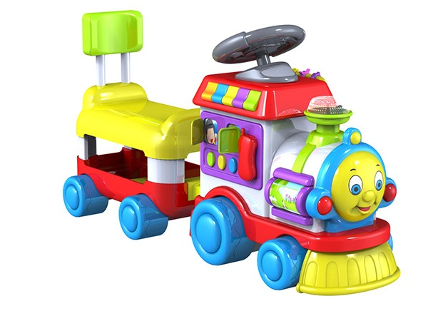 婴幼益智童车设计