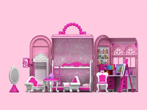 梦幻芭比屋过家家玩具设计