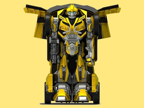 大黄蜂变形金刚设计