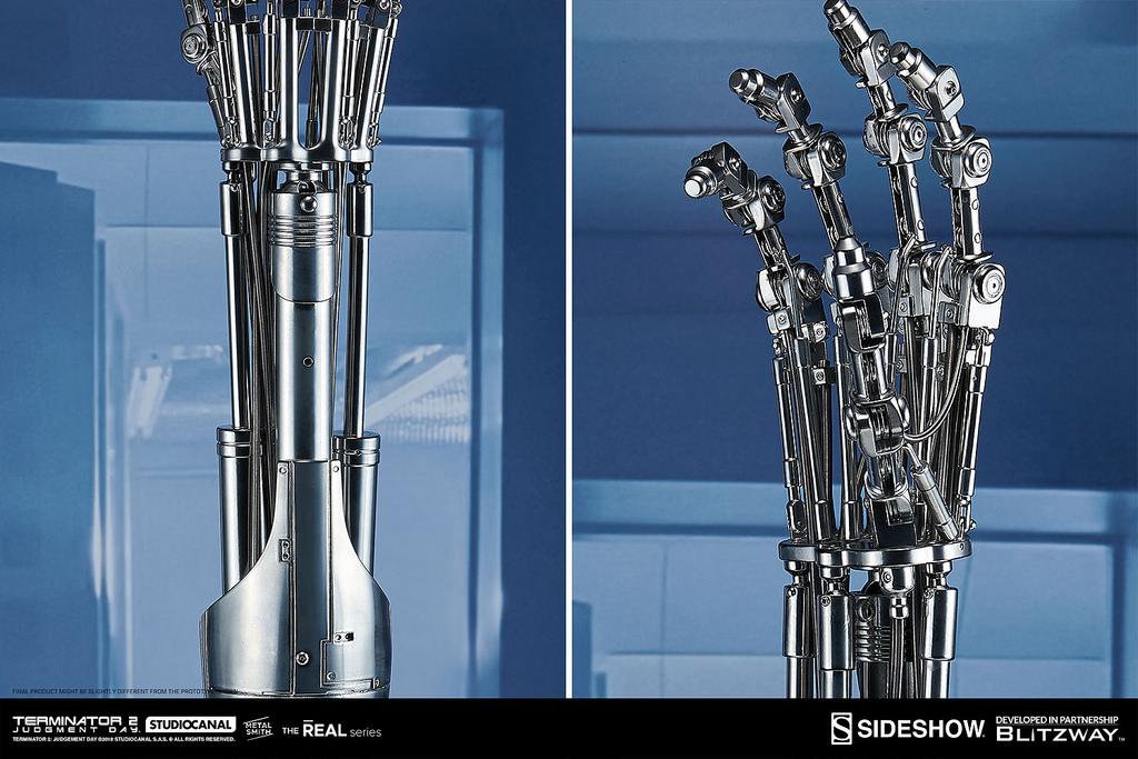 """""""T-800内骨骼 机械手臂&大脑晶片""""模型6"""