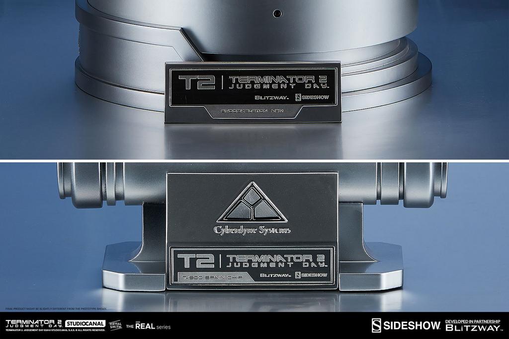 """""""T-800内骨骼 机械手臂&大脑晶片""""模型3"""