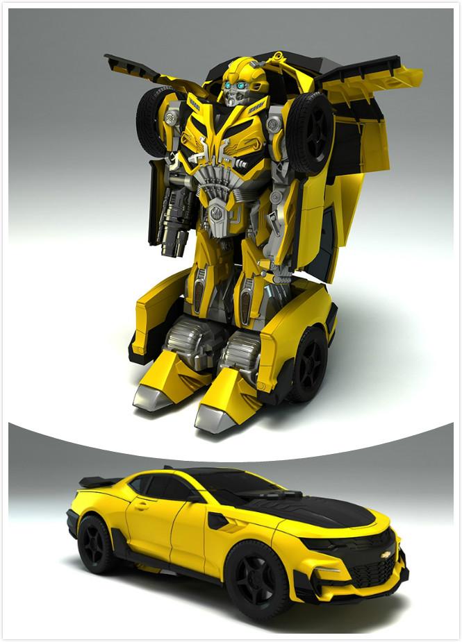 骏意设计·大黄蜂变形金刚案例