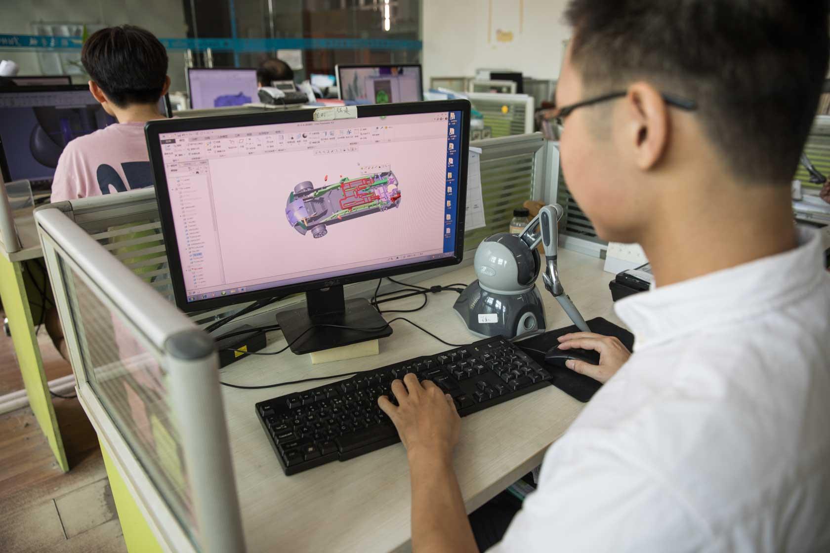 骏意3D结构设计师